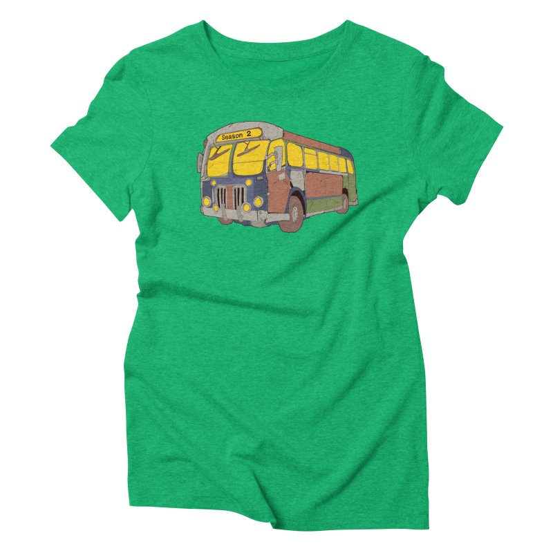 The Question Bus Season Two: Logo Bus Women's Triblend T-Shirt by Keir Miron's Artist Shop
