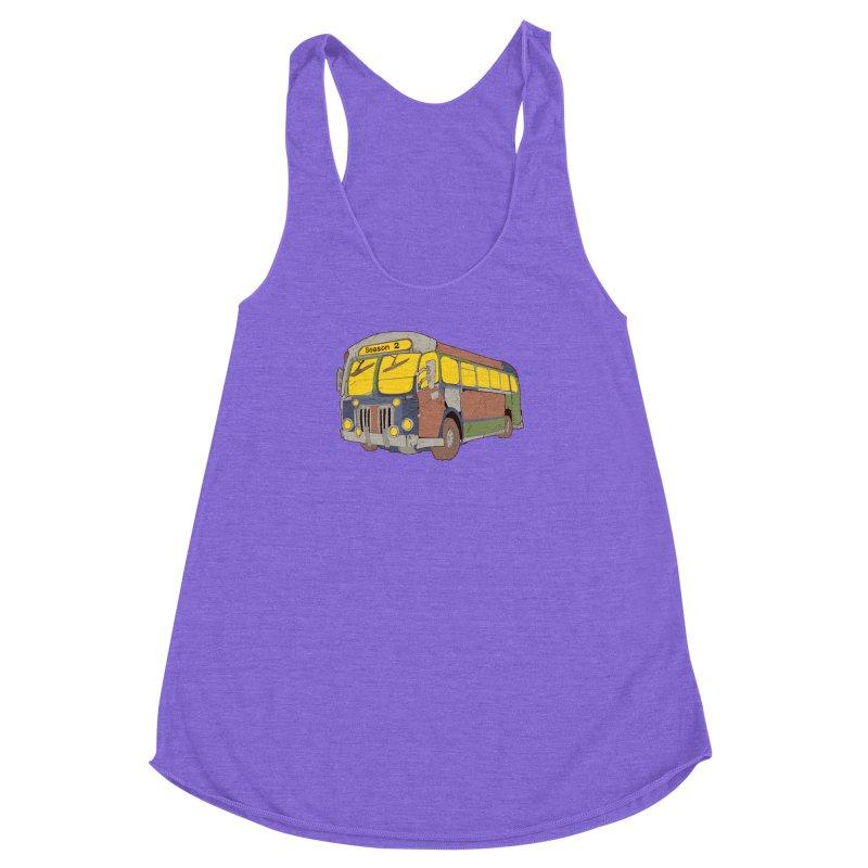 The Question Bus Season Two: Logo Bus Women's Racerback Triblend Tank by Keir Miron's Artist Shop