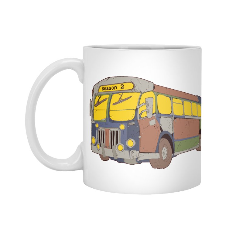 The Question Bus Season Two: Logo Bus Accessories Mug by Keir Miron's Artist Shop
