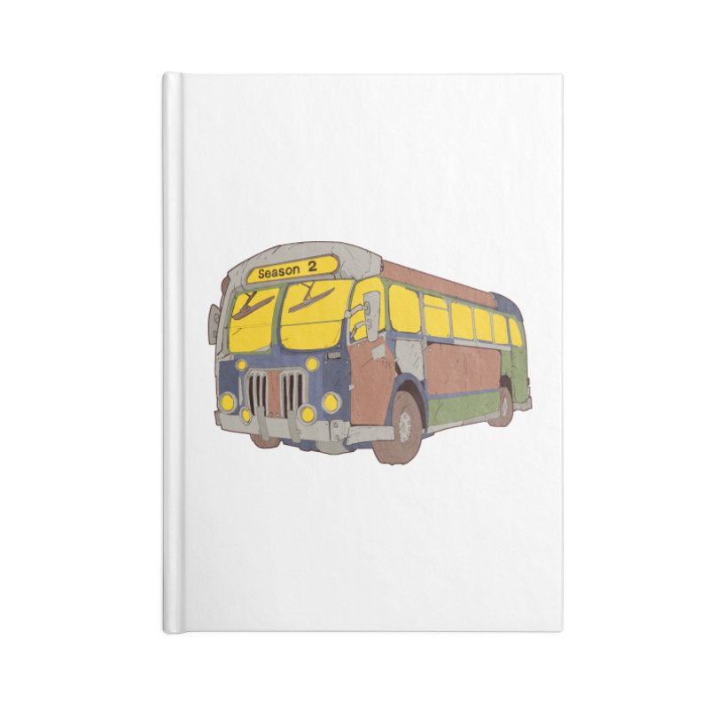 The Question Bus Season Two: Logo Bus Accessories Notebook by Keir Miron's Artist Shop