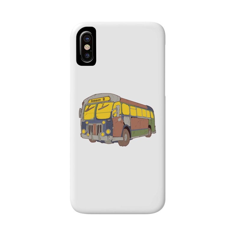 The Question Bus Season Two: Logo Bus Accessories Phone Case by Keir Miron's Artist Shop