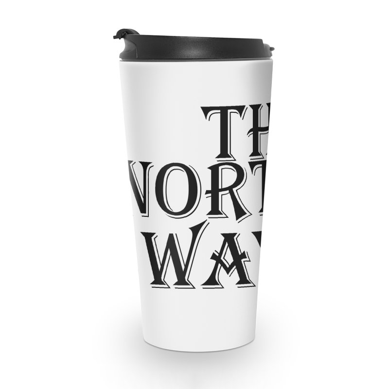 The Northways: Black Accessories Travel Mug by Keir Miron's Artist Shop