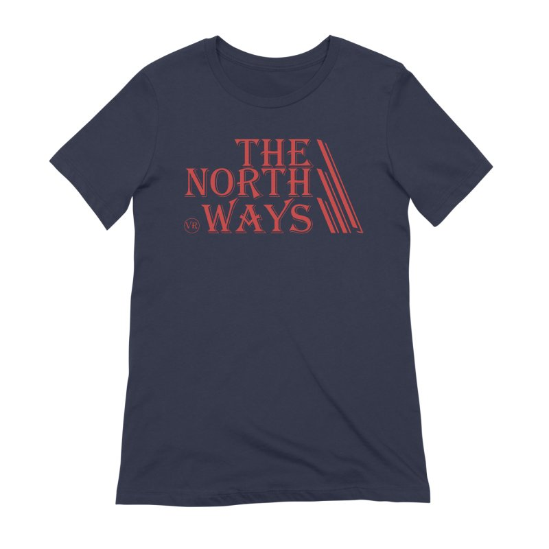 The Northways: Red Women's Extra Soft T-Shirt by Keir Miron's Artist Shop