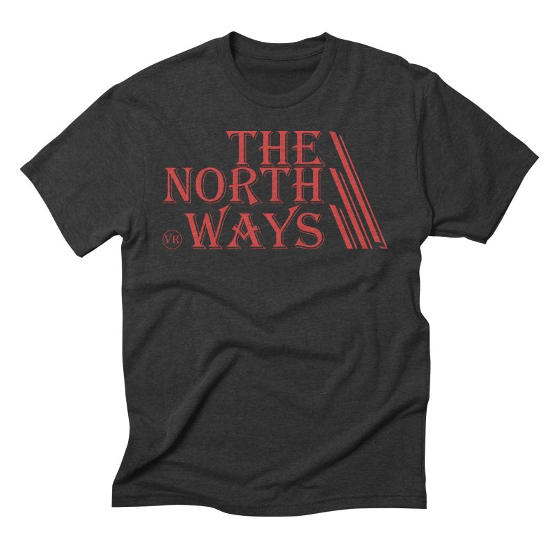 The Northways: Red Men's Triblend T-Shirt by Keir Miron's Artist Shop