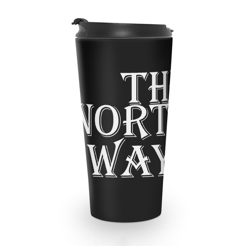 The Northways: White Accessories Travel Mug by Keir Miron's Artist Shop