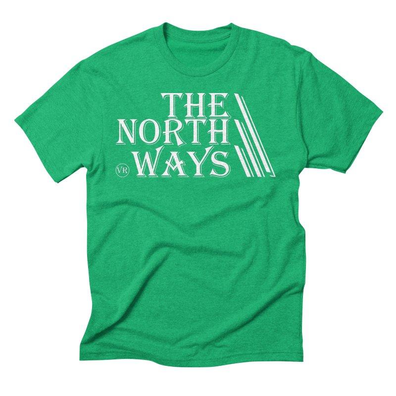 The Northways: White Men's Triblend T-Shirt by Keir Miron's Artist Shop
