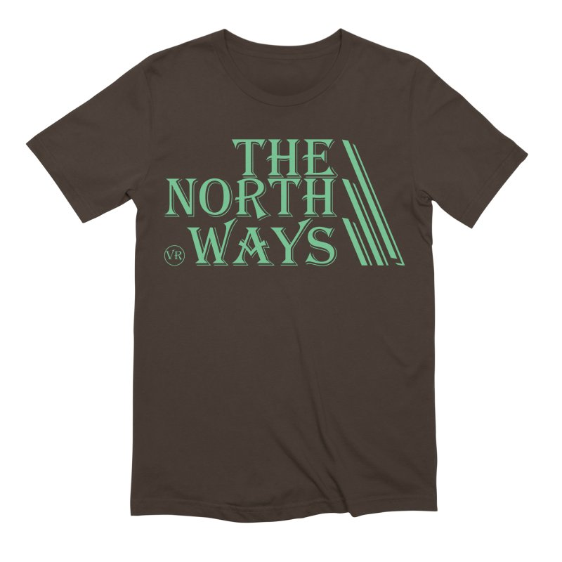 The Northways: Green Men's Extra Soft T-Shirt by Keir Miron's Artist Shop