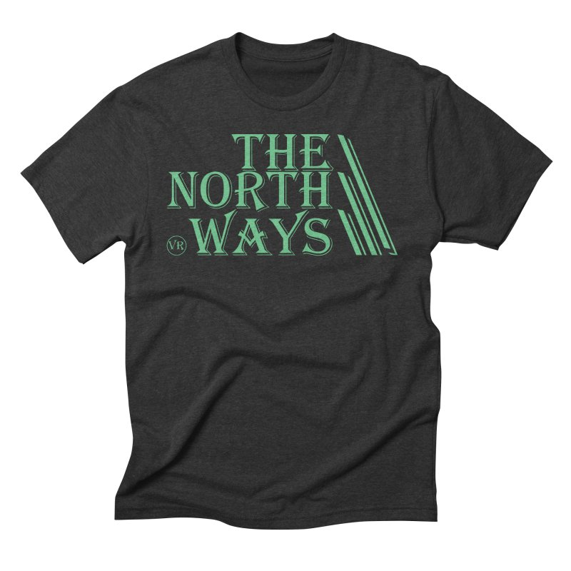 The Northways: Green Men's Triblend T-Shirt by Keir Miron's Artist Shop