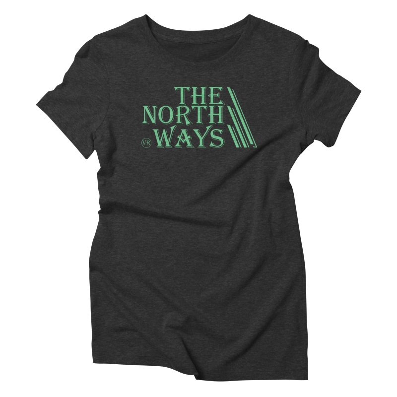 The Northways: Green Women's Triblend T-Shirt by Keir Miron's Artist Shop