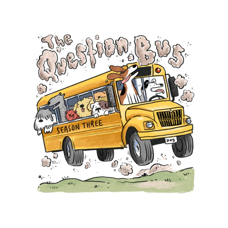 The Question Bus: Season 3: Logo by Keir Miron's Artist Shop