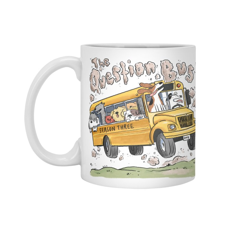 The Question Bus: Season 3: Logo Accessories Standard Mug by Keir Miron's Artist Shop