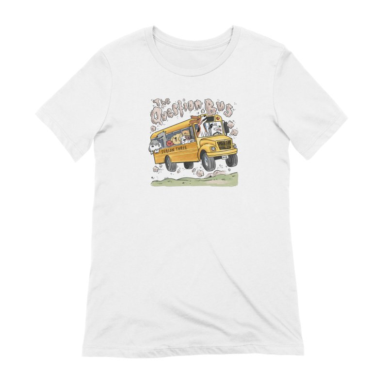 The Question Bus: Season 3: Logo Women's Extra Soft T-Shirt by Keir Miron's Artist Shop