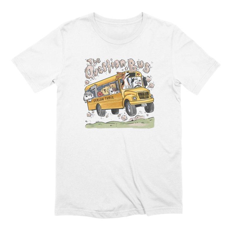 The Question Bus: Season 3: Logo Men's Extra Soft T-Shirt by Keir Miron's Artist Shop