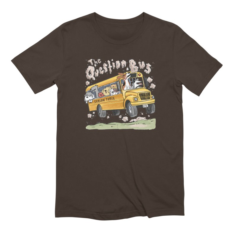The Question Bus: Season 3: Logo Men's Extra Soft T-Shirt by Keir Miron's Artist Shop