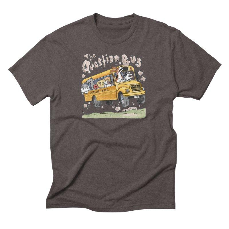 The Question Bus: Season 3: Logo Men's Triblend T-Shirt by Keir Miron's Artist Shop