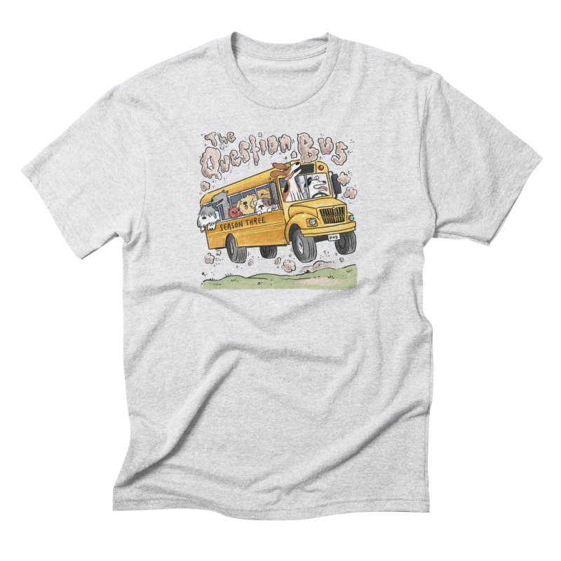The Question Bus: Season 3: Logo Men's Triblend T-Shirt by Keir Miron's Artist Shop