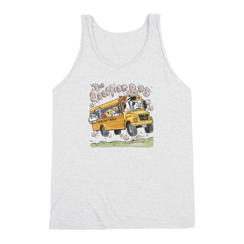 The Question Bus: Season 3: Logo Men's Triblend Tank by Keir Miron's Artist Shop