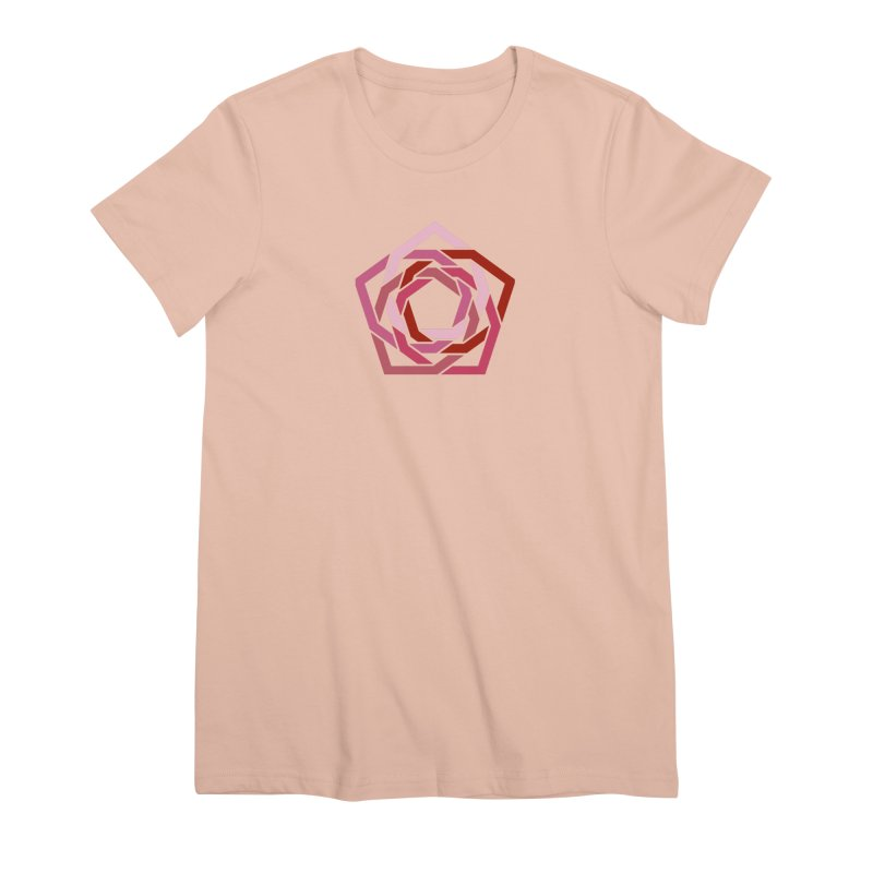 Hermetica: Rose Women's Premium T-Shirt by Keir Miron's Artist Shop
