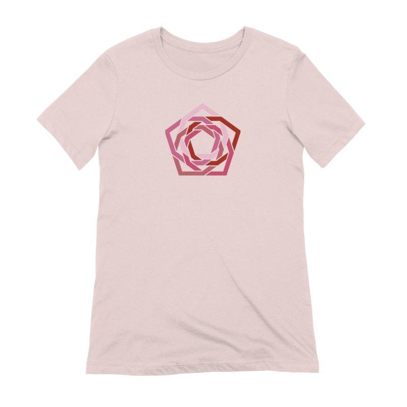 Hermetica: Rose Women's Extra Soft T-Shirt by Keir Miron's Artist Shop