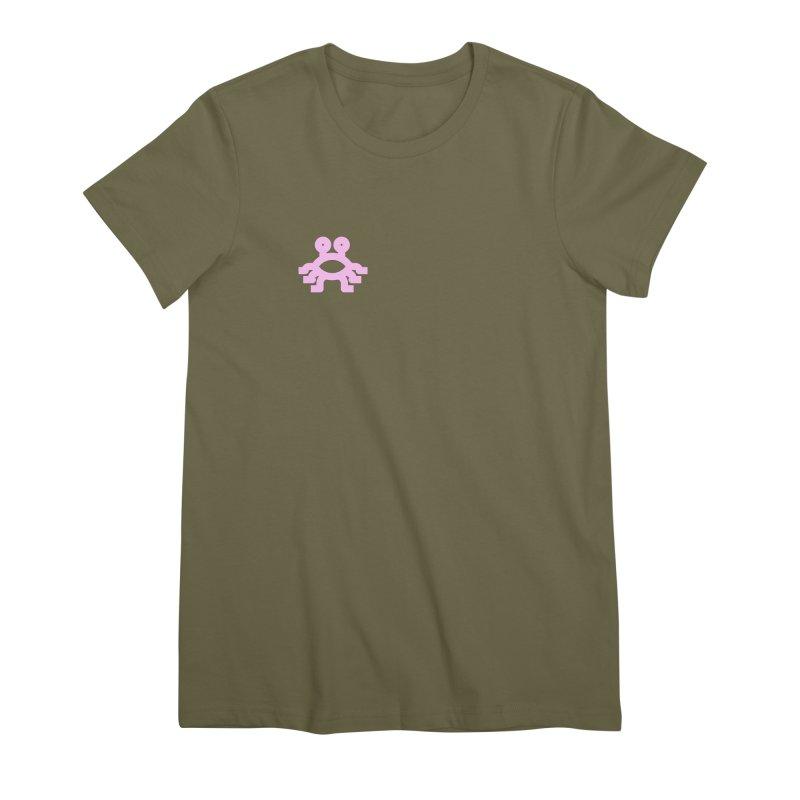 Hermetica: Alien Women's Premium T-Shirt by Keir Miron's Artist Shop