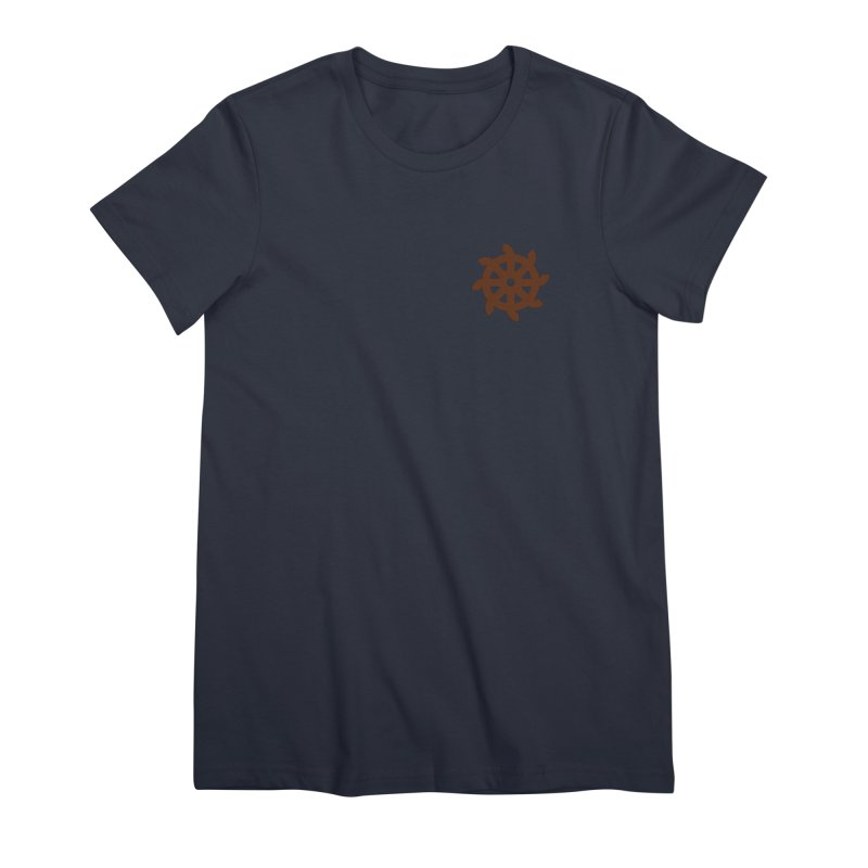Hermetica: Wheel Women's Premium T-Shirt by Keir Miron's Artist Shop