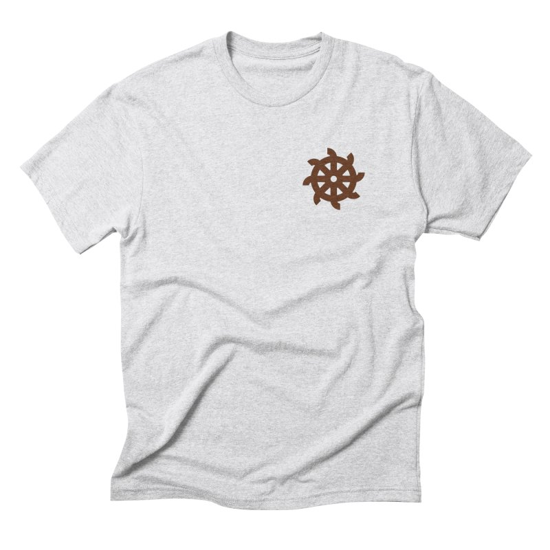 Hermetica: Wheel Men's Triblend T-Shirt by Keir Miron's Artist Shop