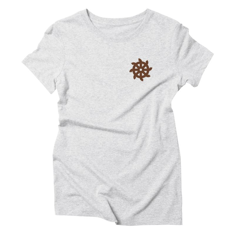 Hermetica: Wheel Women's Triblend T-Shirt by Keir Miron's Artist Shop