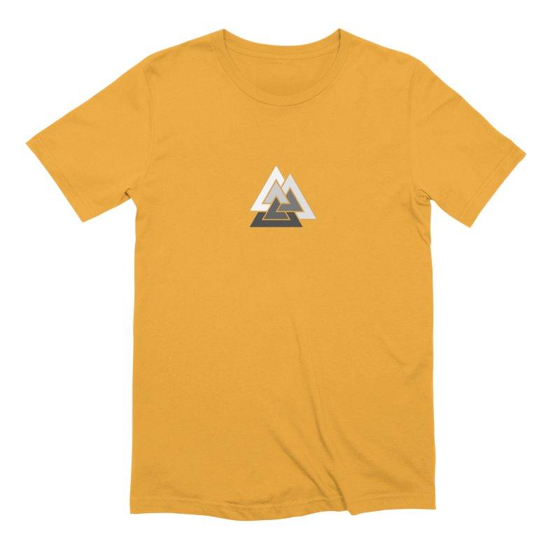 Hermetica: Mountain Men's Extra Soft T-Shirt by Keir Miron's Artist Shop