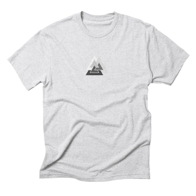 Hermetica: Mountain Men's Triblend T-Shirt by Keir Miron's Artist Shop