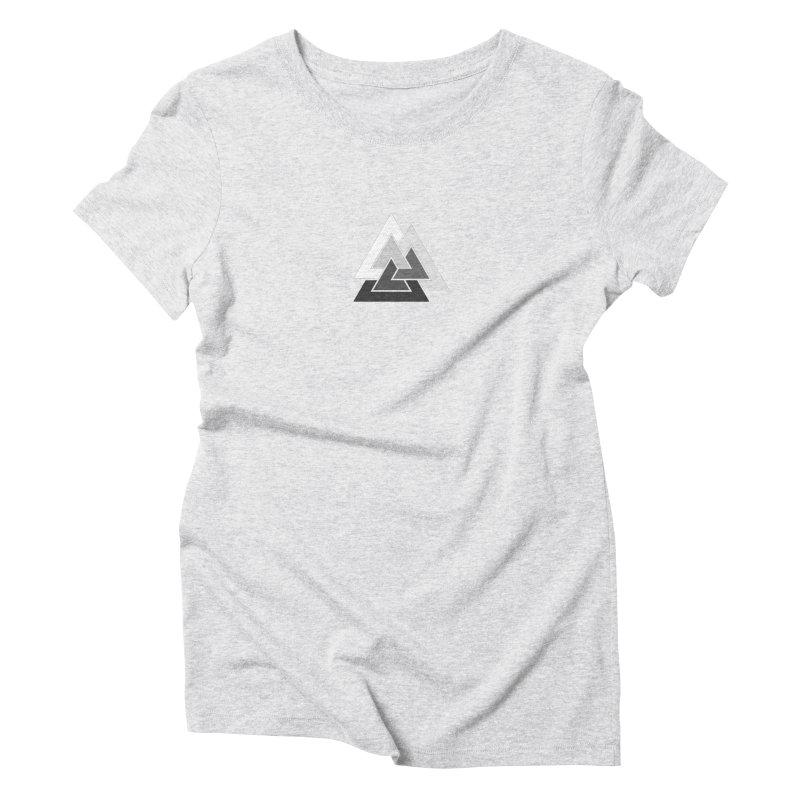 Hermetica: Mountain Women's Triblend T-Shirt by Keir Miron's Artist Shop
