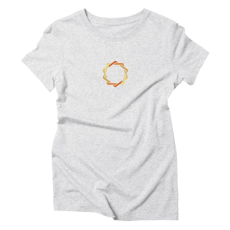 Hermetica: Sun Women's Triblend T-Shirt by Keir Miron's Artist Shop