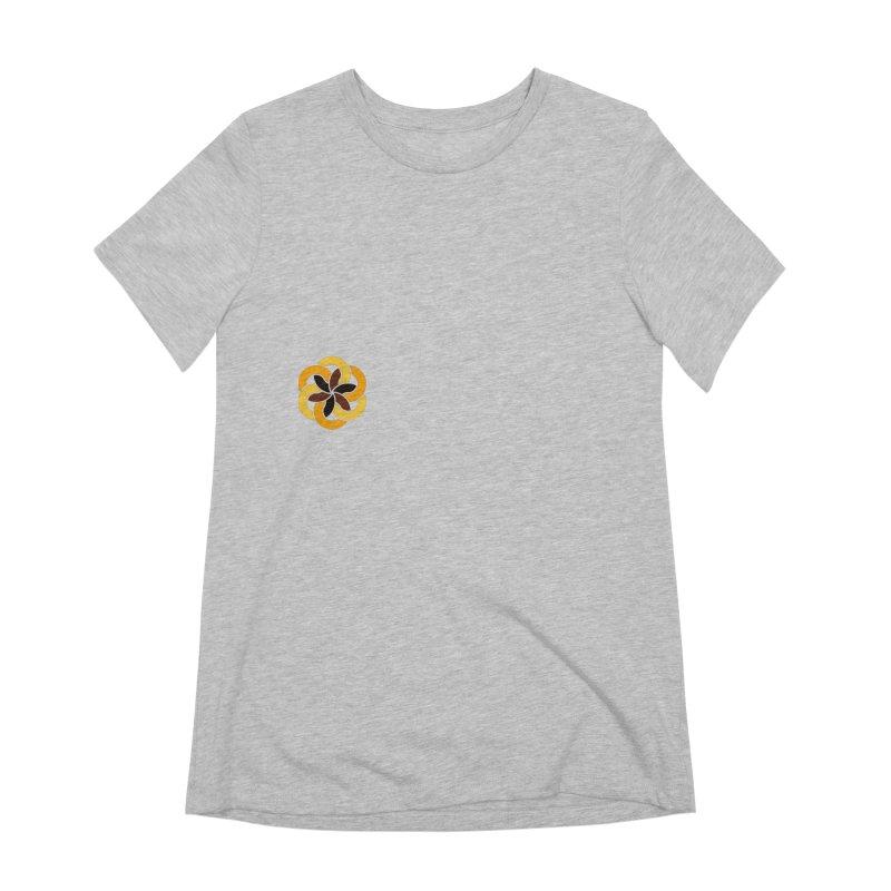 Hermetica: Sun Flower Women's Extra Soft T-Shirt by Keir Miron's Artist Shop