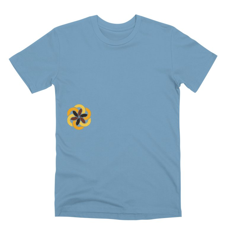 Hermetica: Sun Flower Men's Premium T-Shirt by Keir Miron's Artist Shop