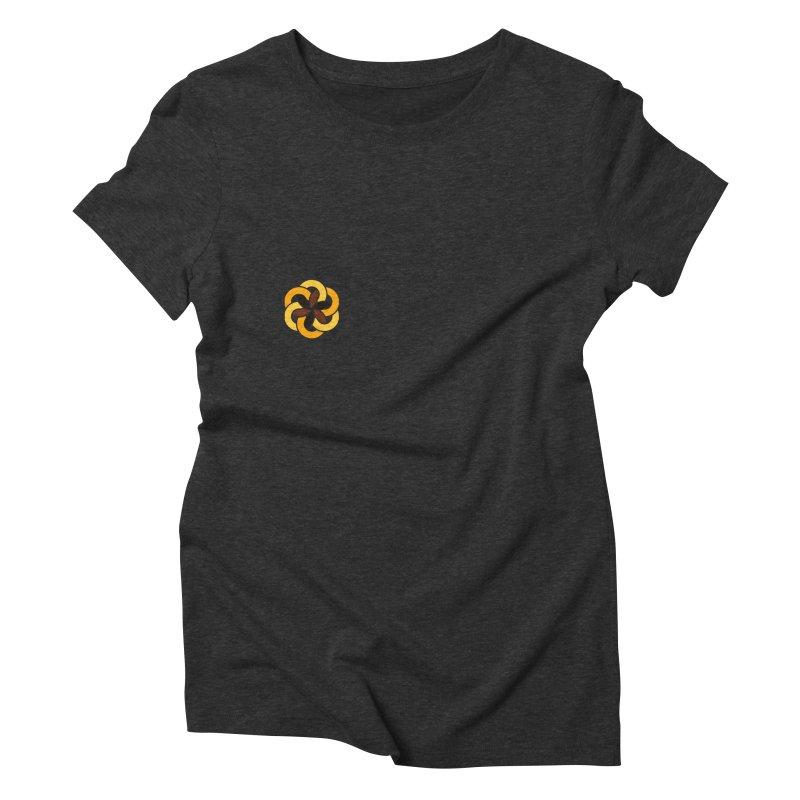 Hermetica: Sun Flower Women's Triblend T-Shirt by Keir Miron's Artist Shop