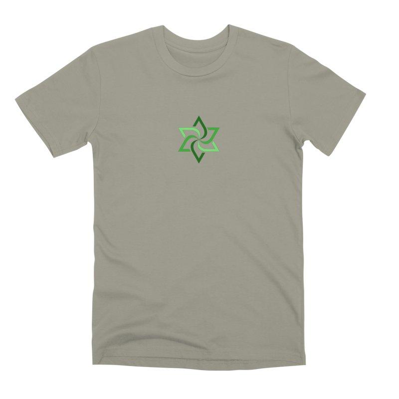 Hermetica: Leaf Men's Premium T-Shirt by Keir Miron's Artist Shop