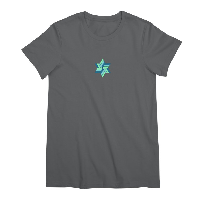 Hermetica: Wave Women's Premium T-Shirt by Keir Miron's Artist Shop
