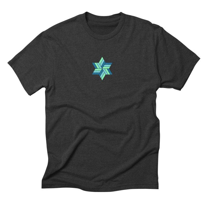 Hermetica: Wave Men's Triblend T-Shirt by Keir Miron's Artist Shop