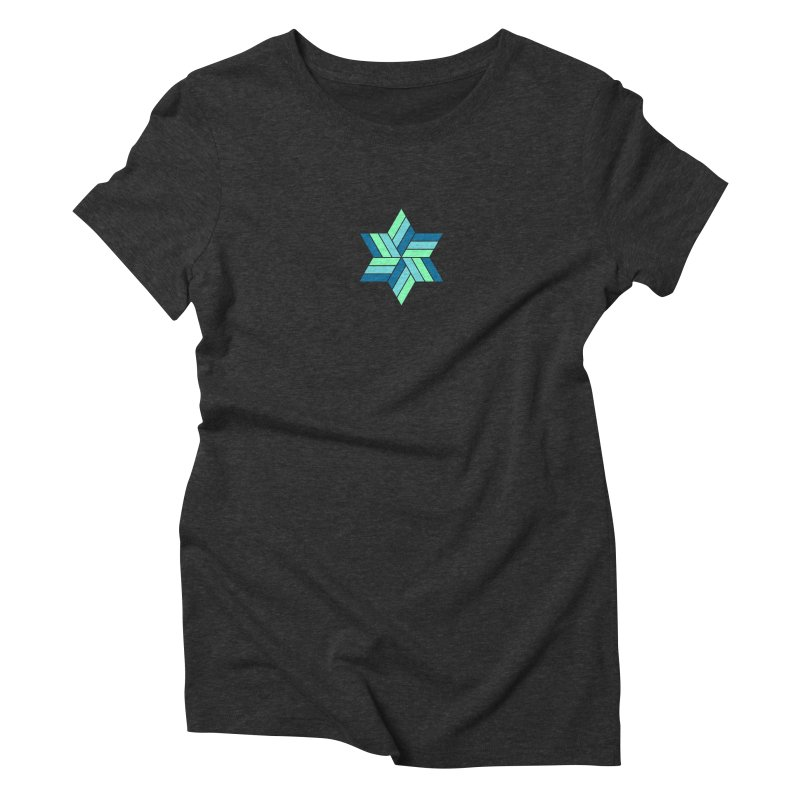 Hermetica: Wave Women's Triblend T-Shirt by Keir Miron's Artist Shop