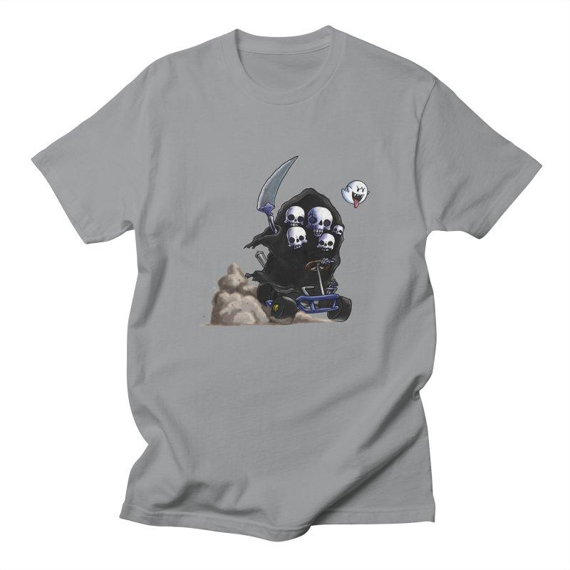 Dark Souls Invades Mario Kart (Gravelord Nito) Men's T-Shirt by Keith Noordzy's Artist Shop