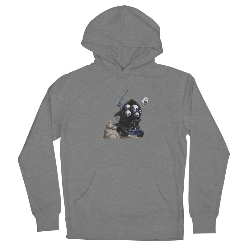 Dark Souls Invades Mario Kart (Gravelord Nito) Women's Pullover Hoody by Keith Noordzy's Artist Shop