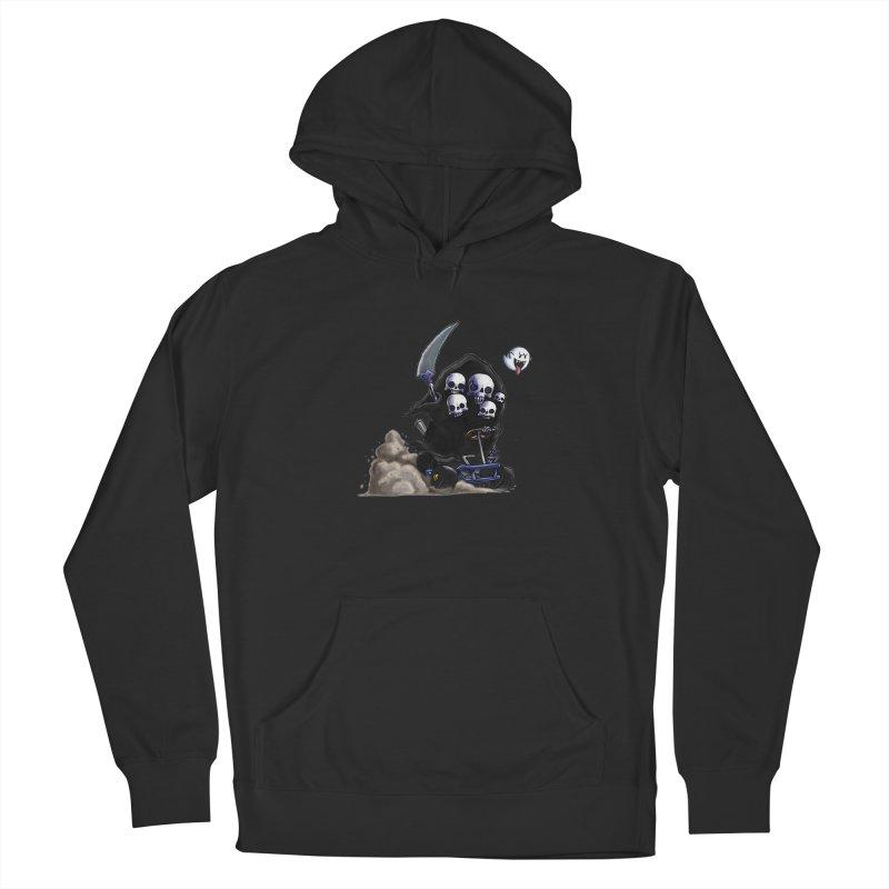 Dark Souls Invades Mario Kart (Gravelord Nito) Men's Pullover Hoody by Keith Noordzy's Artist Shop