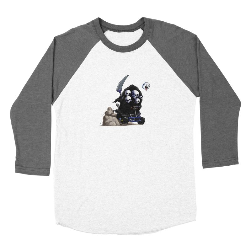 Dark Souls Invades Mario Kart (Gravelord Nito) Men's Longsleeve T-Shirt by Keith Noordzy's Artist Shop