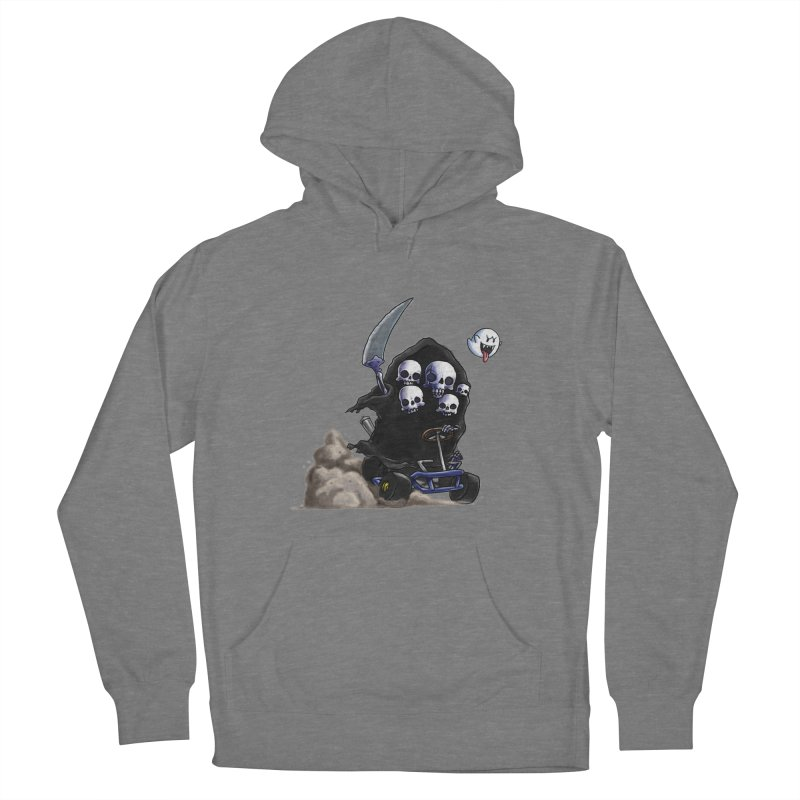 Dark Souls Invades Mario Kart (Gravelord Nito) Women's French Terry Pullover Hoody by Keith Noordzy's Artist Shop