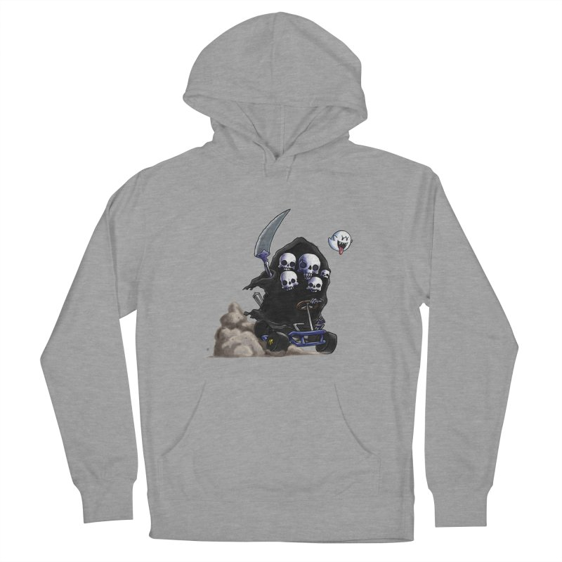 Dark Souls Invades Mario Kart (Gravelord Nito) Men's French Terry Pullover Hoody by Keith Noordzy's Artist Shop