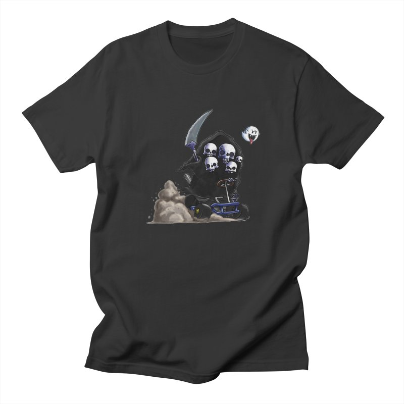 Dark Souls Invades Mario Kart (Gravelord Nito) Men's T-shirt by Keith Noordzy's Artist Shop