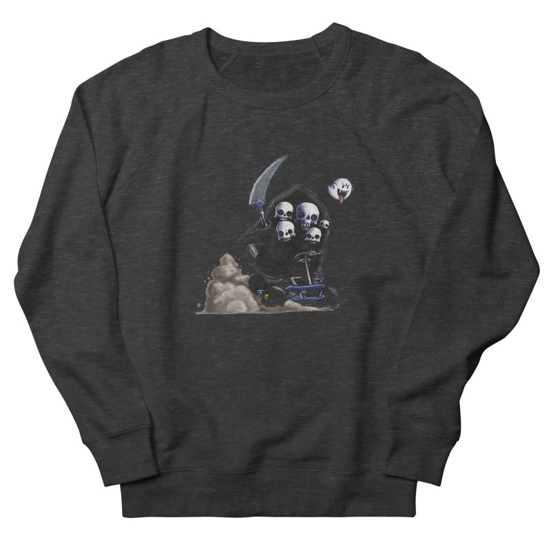 Dark Souls Invades Mario Kart (Gravelord Nito) Women's Sweatshirt by Keith Noordzy's Artist Shop