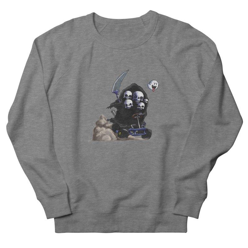 Dark Souls Invades Mario Kart (Gravelord Nito) Women's French Terry Sweatshirt by Keith Noordzy's Artist Shop