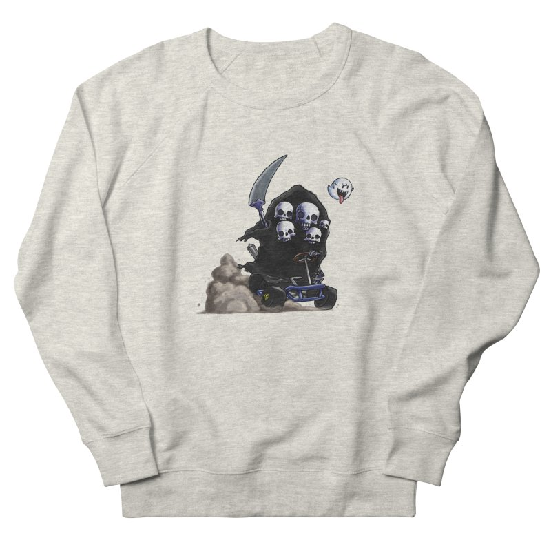 Dark Souls Invades Mario Kart (Gravelord Nito) Women's Sweatshirt by Keith Noordzy's Artist Shop