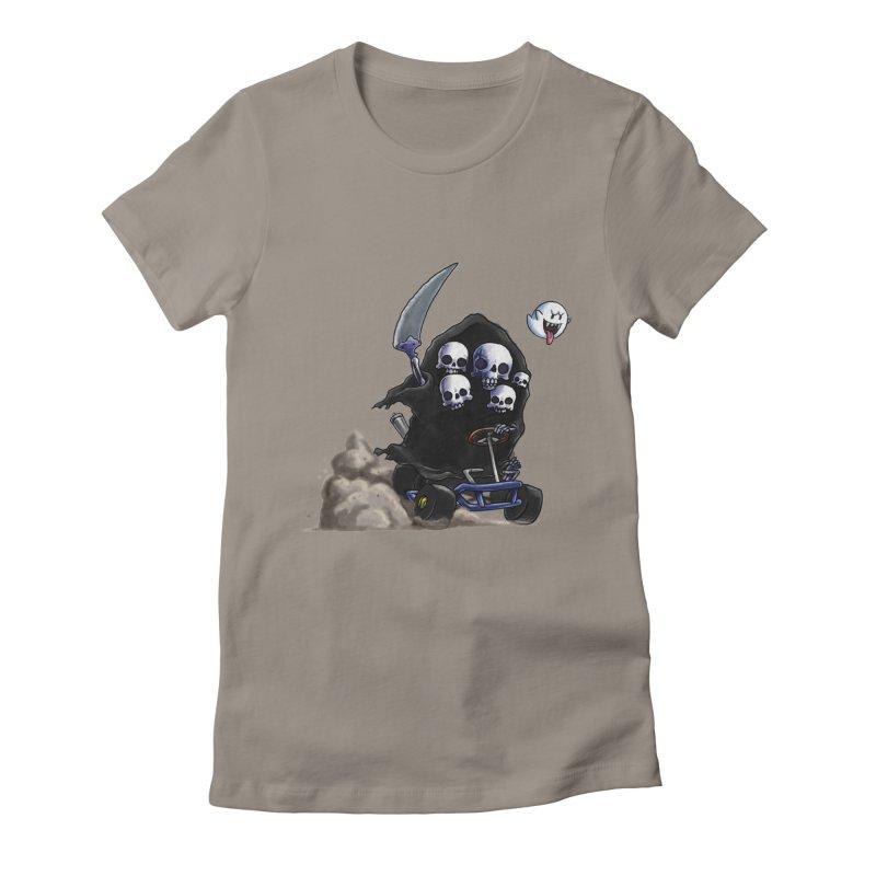 Dark Souls Invades Mario Kart (Gravelord Nito) Women's T-Shirt by Keith Noordzy's Artist Shop