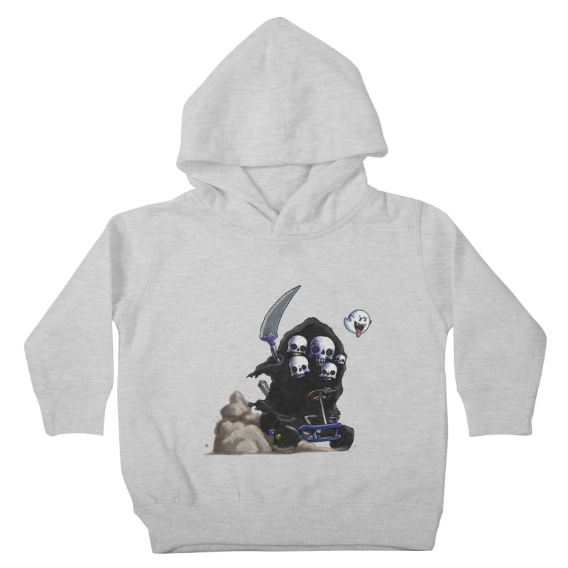 Dark Souls Invades Mario Kart (Gravelord Nito) Kids Toddler Pullover Hoody by Keith Noordzy's Artist Shop